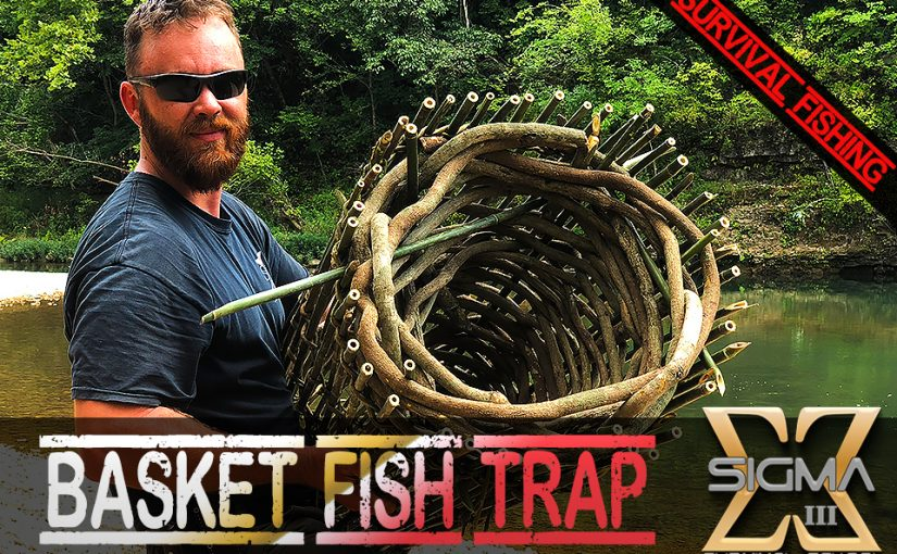 How to Make a Twined Fish Trap