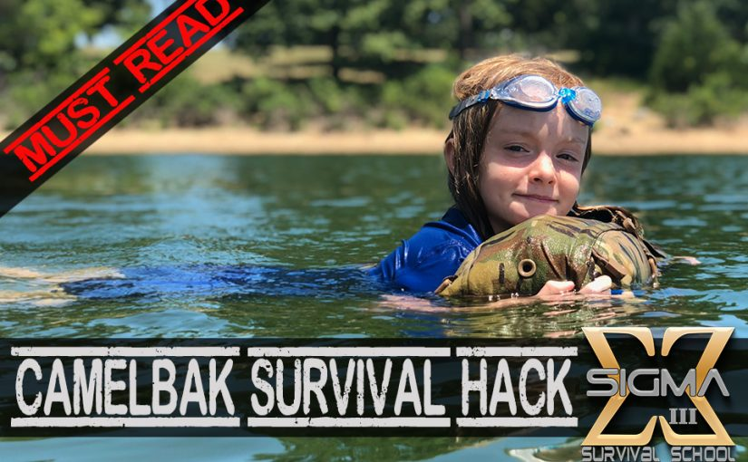 CamelBak Survival Hack